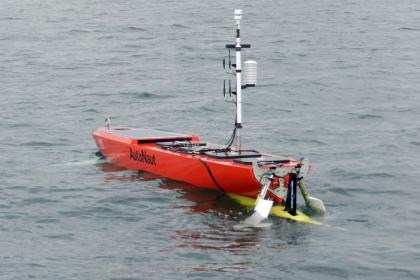 AutoNaut with Seaglider