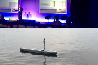 AutoNaut as a communications hub for UUVs