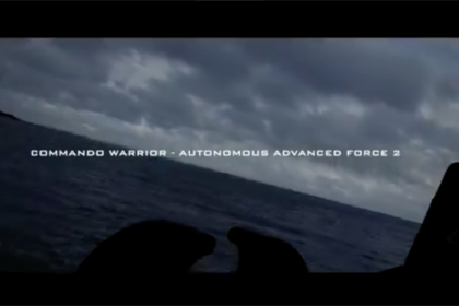 Royal Navy Autonomous Advanced Force 2 Trial